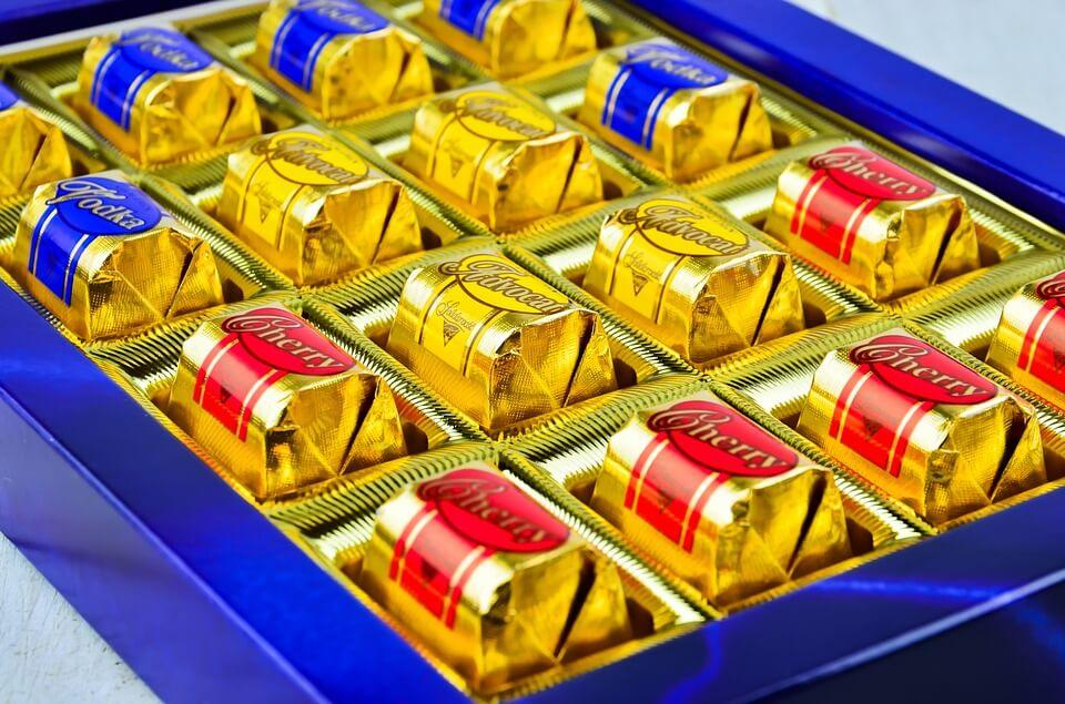 czekoladki na walentynki