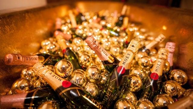 ile kosztuje szampan ze złotem