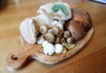 grzyby na desce