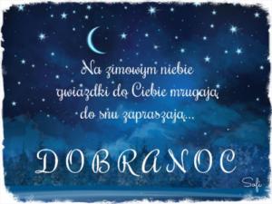 życzenia na dobranoc