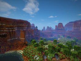 Widok z Minecraft