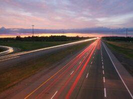 widok autostrady