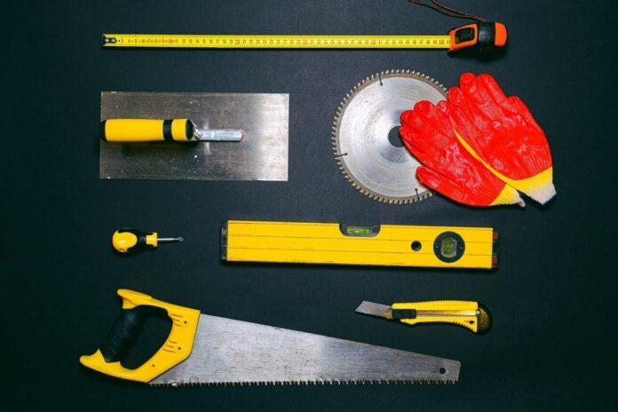 ułożone narzędzia