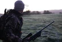 myśliwy na polowaniu