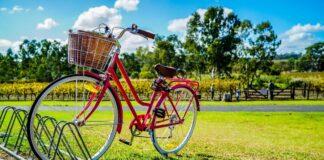 rower w stojaku