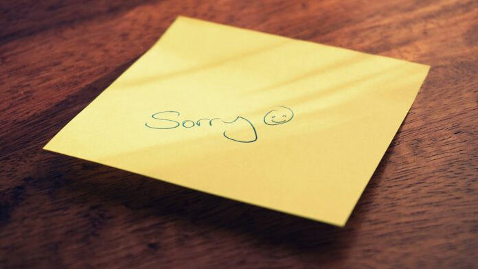 Wiersze na przeprosiny dla niej